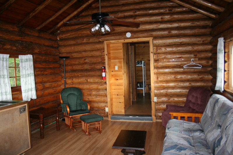 Cabin 1 living area