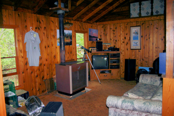 Lodge tv room