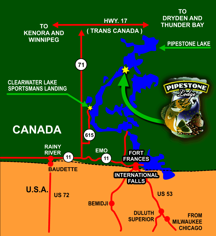 Pipestone Map